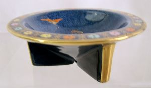 "Carlton Ware 'Gypsy ""Isadora Duncan"" Tri-Footed Bowl - 1930s - SOLD"